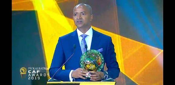 CAF Award 2019: Moïse KATUMBI désigné meilleur dirigeant sportif africain de l'année et dédie son prix spécialement à la population de Beni en République Démocratique du Congo.