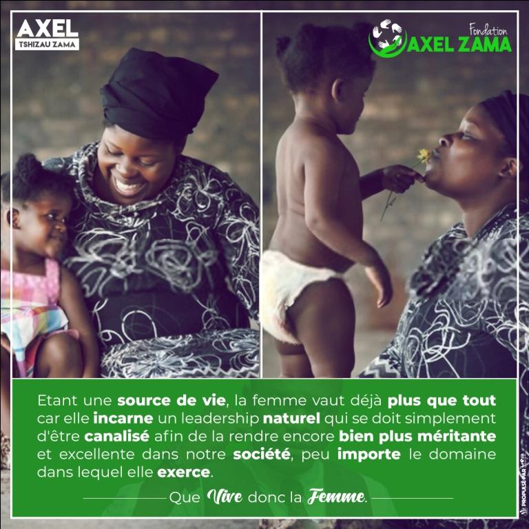 Pour ces braves femmes du monde entier | Fondation Axel Zama