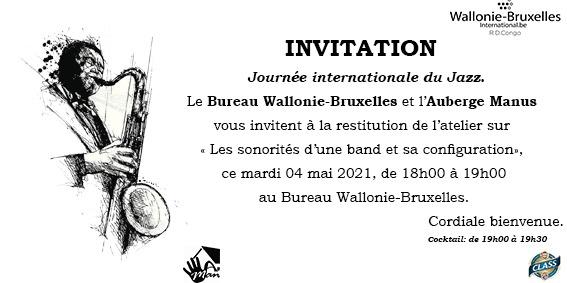 Musique : Concert Jazz en direct du Bureau Wallonie-Bruxelles de Lubumbashi