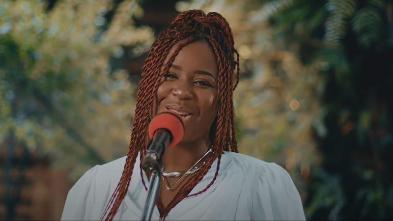 Quand Charlotte Dipanda nous renvoie dans le temps avec une de ses mélancoliques chansons