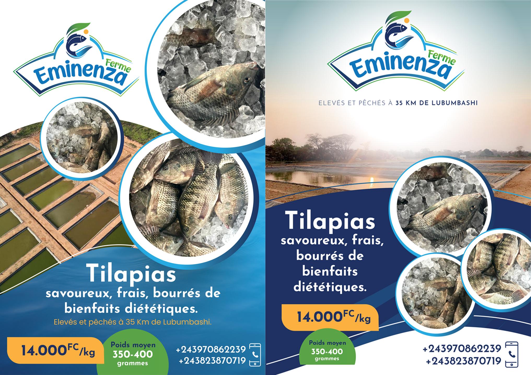 FERME EMINENZA: Du poisson frais jusque chez vous.