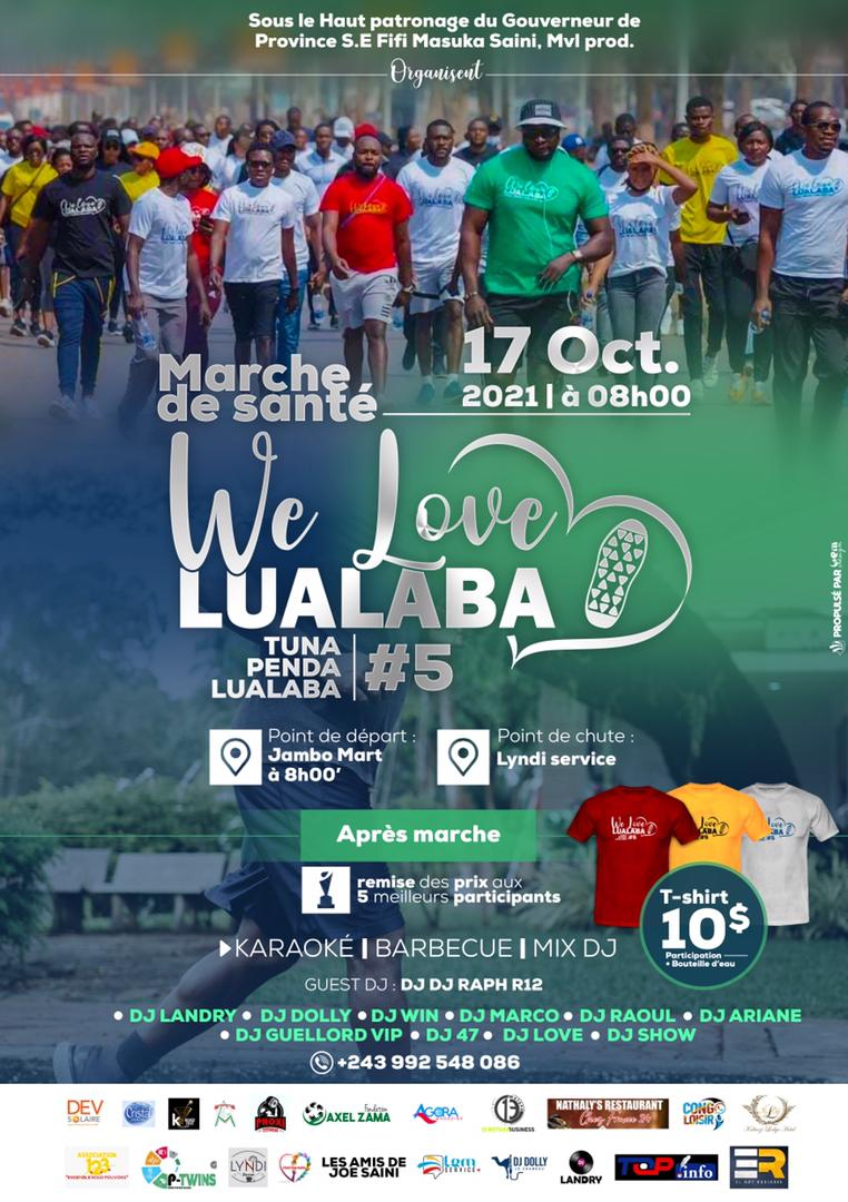 We love Lualaba cinquième édition